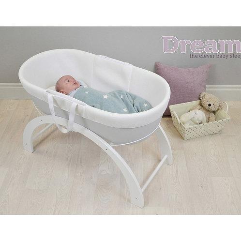 Shnuggle Dreami Baby Sleeper White