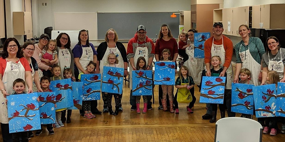 Mommy/Daddy & Me Paint Night