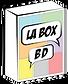 La Box BD, Logo, box bd, bd, bandes dessinées, abonnement BD, coffret BD, fan de BD, cadeau