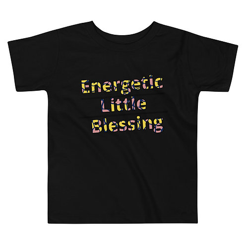 Energetic Little Blessing Toddler T-Shirt