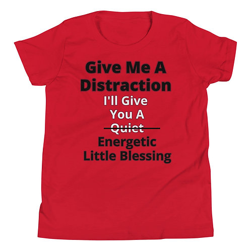 Give Me A Distraction Youth T-Shirt