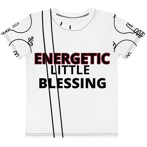 Energetic Little Blessing Toddlers T-Shirt