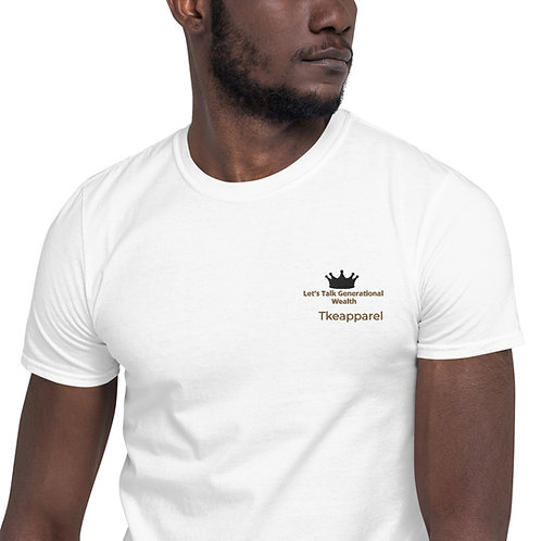 Generational Wealth Embroidery T-Shirt