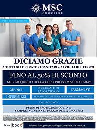 50% di sconto Operatori Sanitari