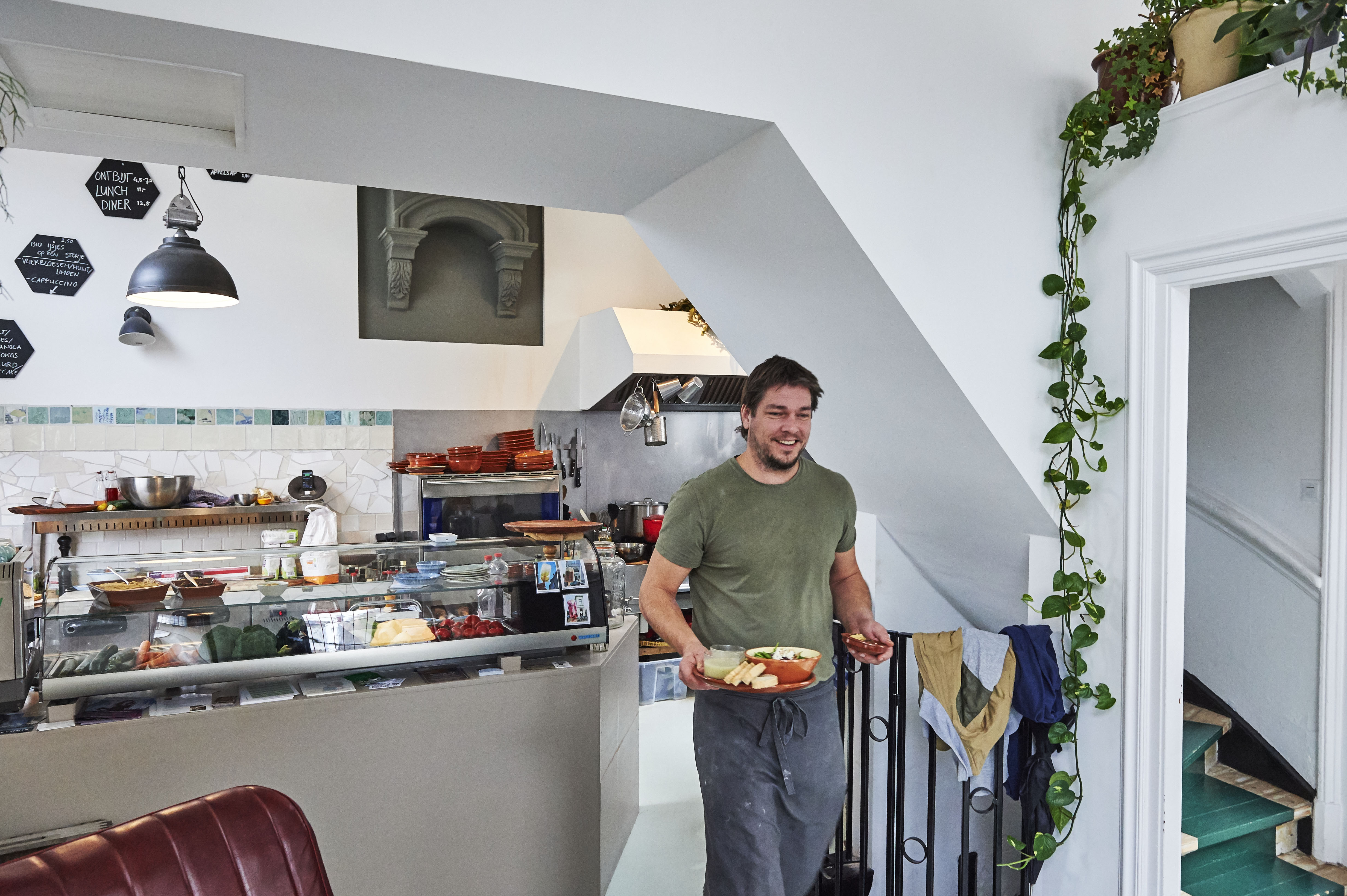 Ondernemer en kok Nick Luken