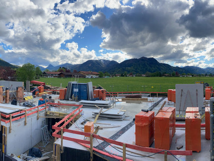 Baubeginn am Tegernsee
