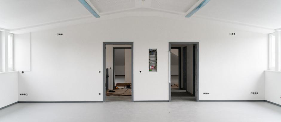 Freie Célestin Freinet Schule: Baufortschritt Juni '19