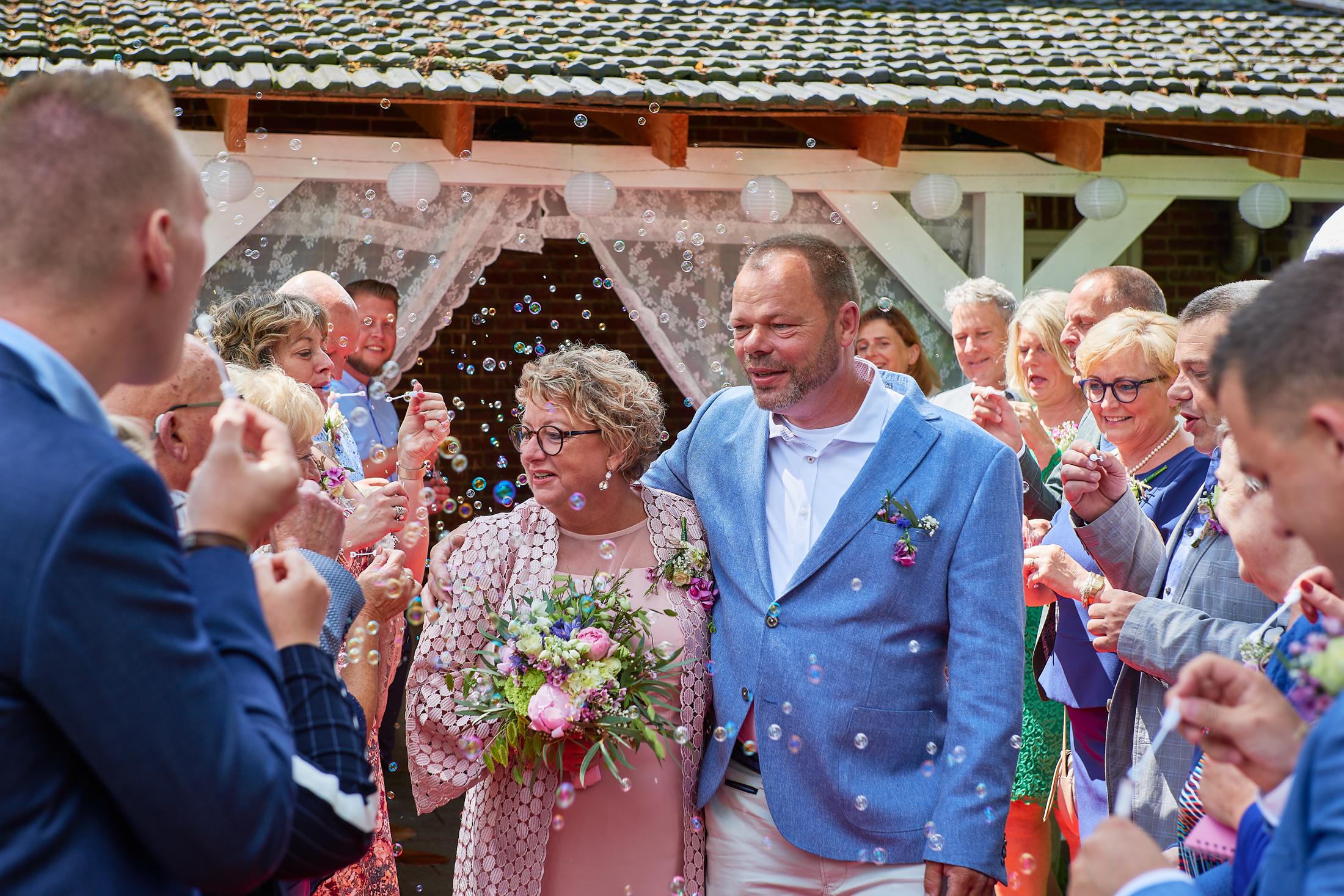 Bruiloft Henk-Jan en Ingeborg