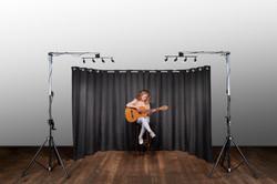 Backdrop Curtain en SpeakFrame smal