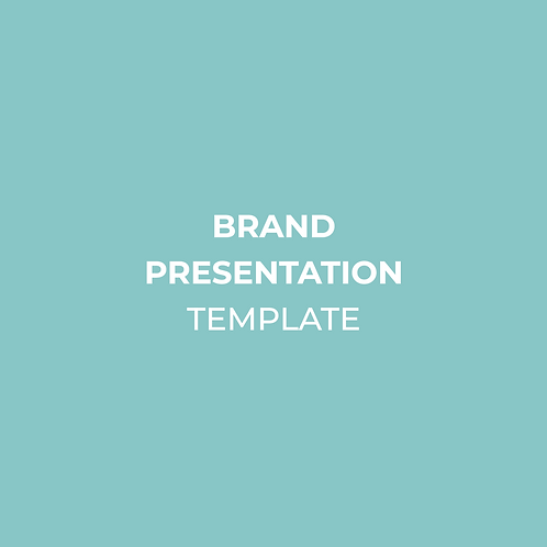 Brand Presentation/Proposal