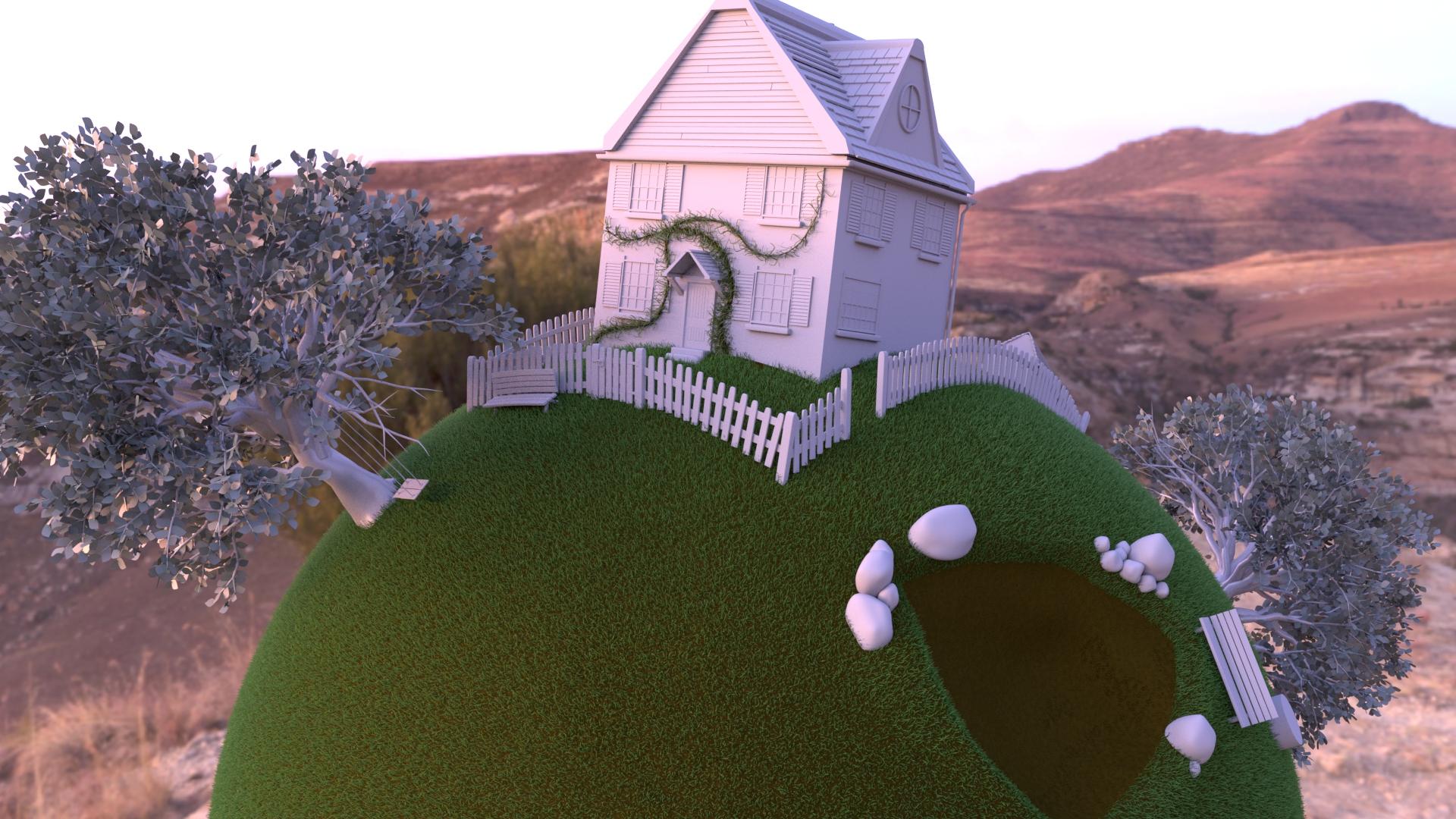Grass applied