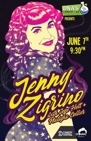 Jenny Zigrino in Santa Cruz