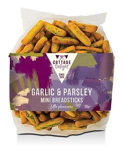 CD730018 Garlic & Parsley Mini Breadstic