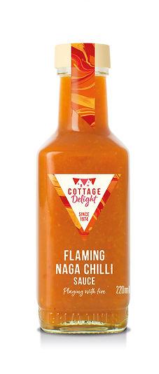 CD300098 Flaming Naga Chilli Sauce 220ml