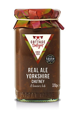 CD200041 Real Ale Yorkshire Chutney 320g