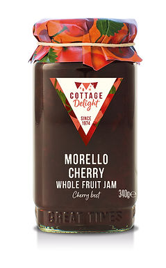 CD100041 Morello Cherry Whole Fruit Jam