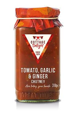 CD200042 Tomato Garlic & Ginger Chutney