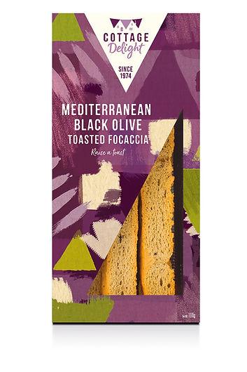 CD730010 Mediterranean Black Olive Toast