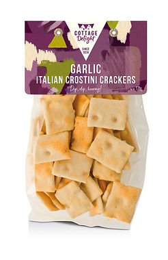 CD730002 Garlic Italian Crostini Cracker