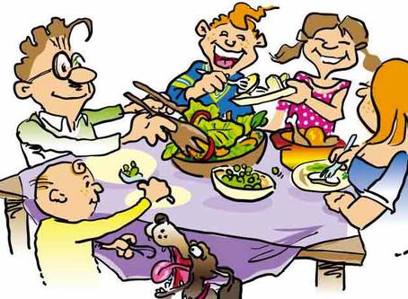 Znaczenie rodzinnych posiłków