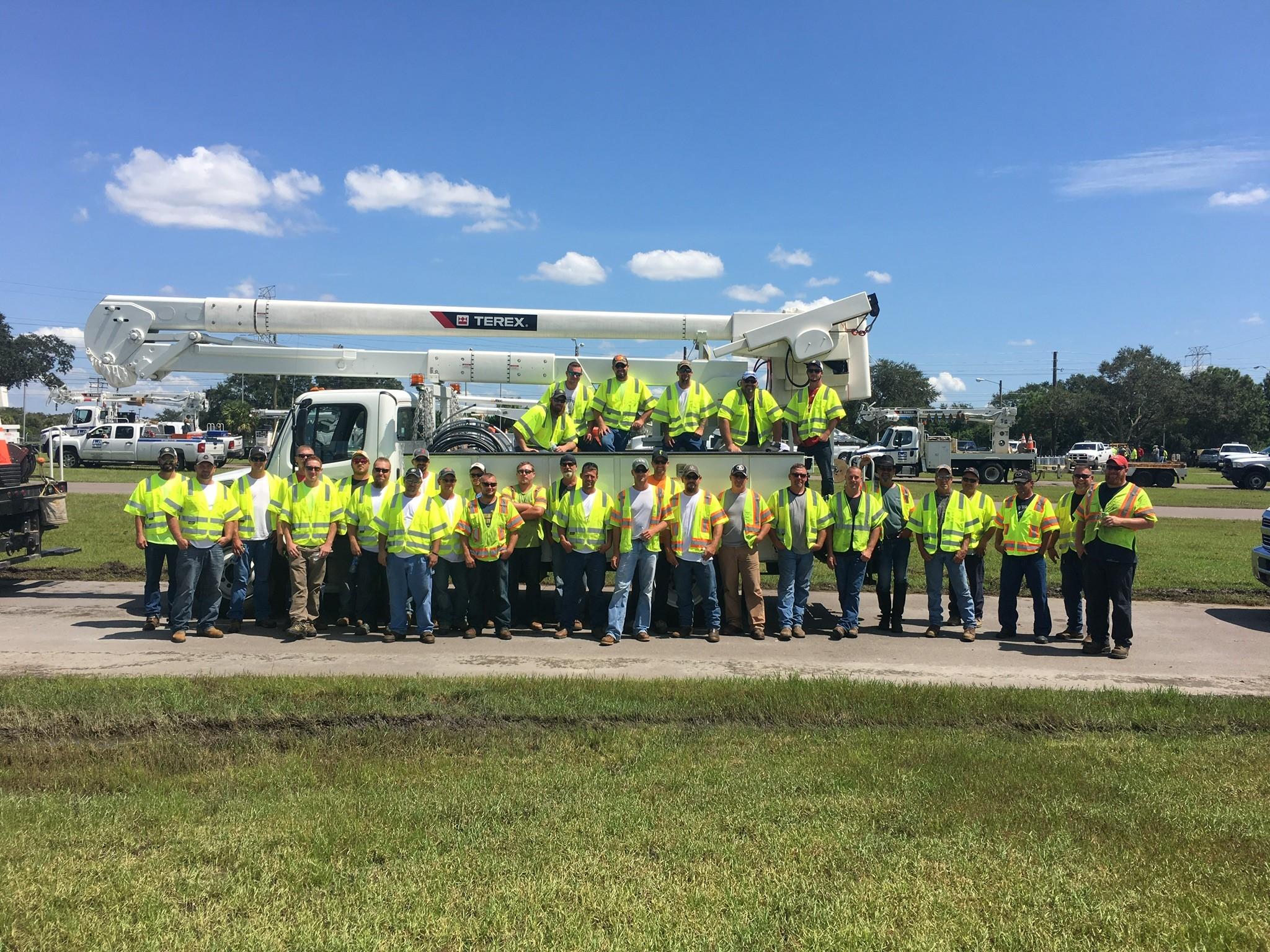 Thayer Irma crew