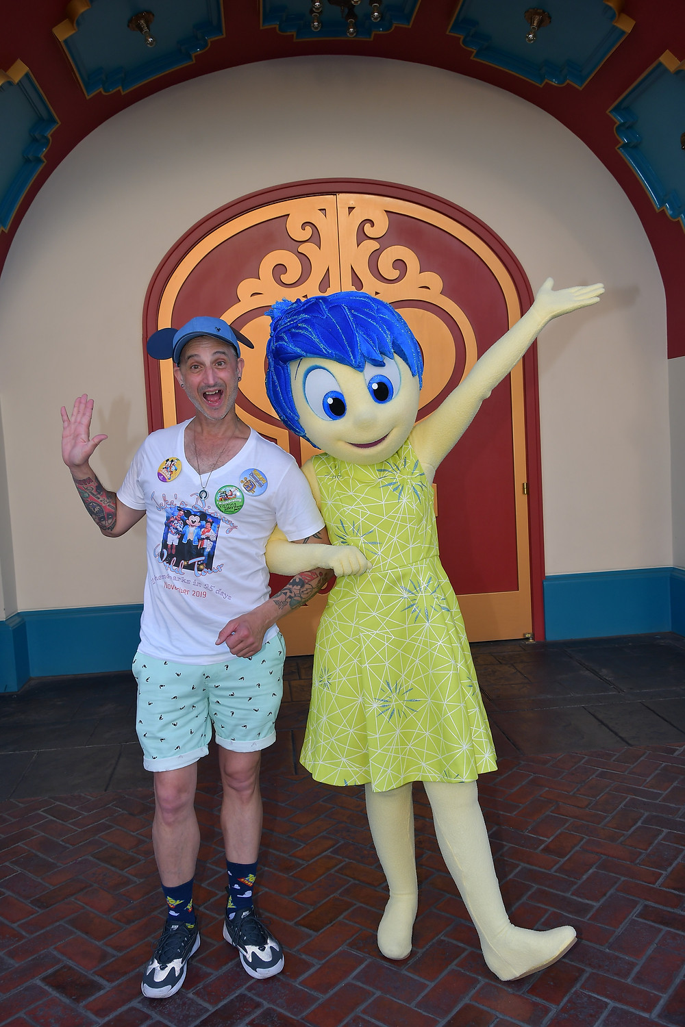 Jake loves Disney, travels to the parks when he can, is a big kid at heart.