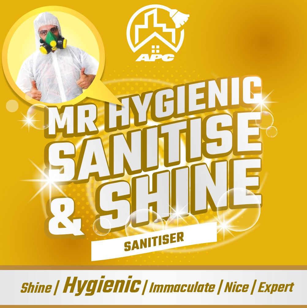 Mr Hygienic sanitise & shine
