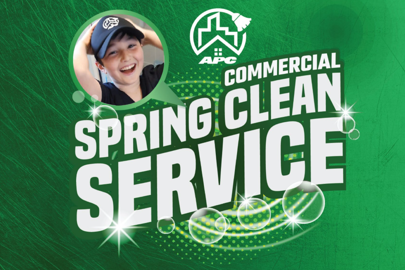Commercial Spring Clean Service
