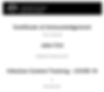 Coronavirus covid19 training certificate