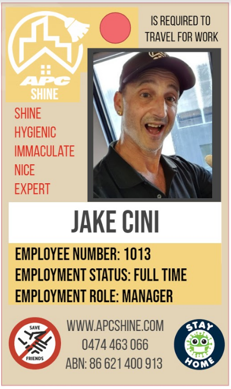 Jake Cini part of the Shine team