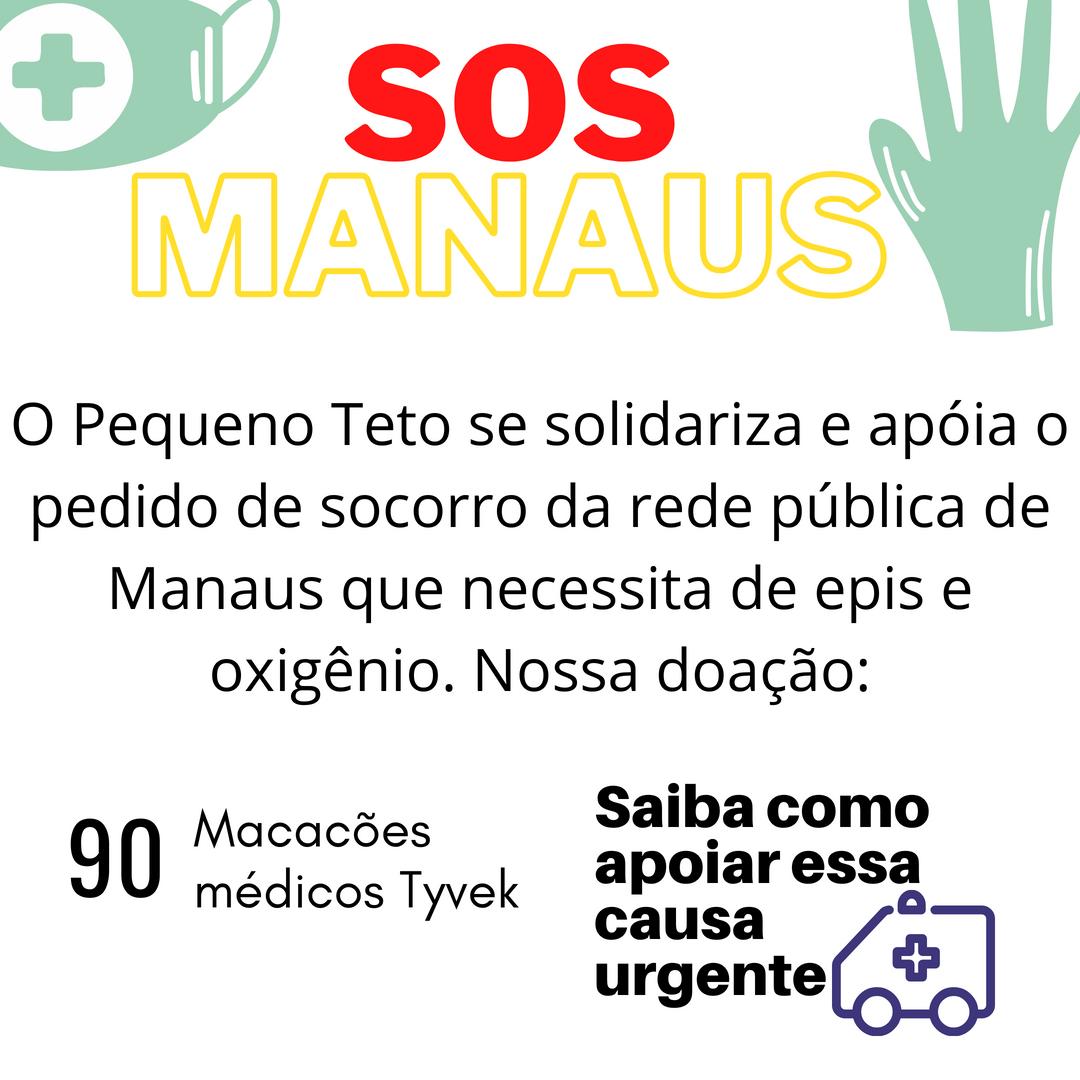 Sos Manaus - Pequeno Teto