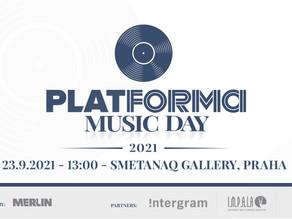 PLATFORMA Music Day 23.9.2021 - první ročník konference pro nezávislá hudební vydavatelství