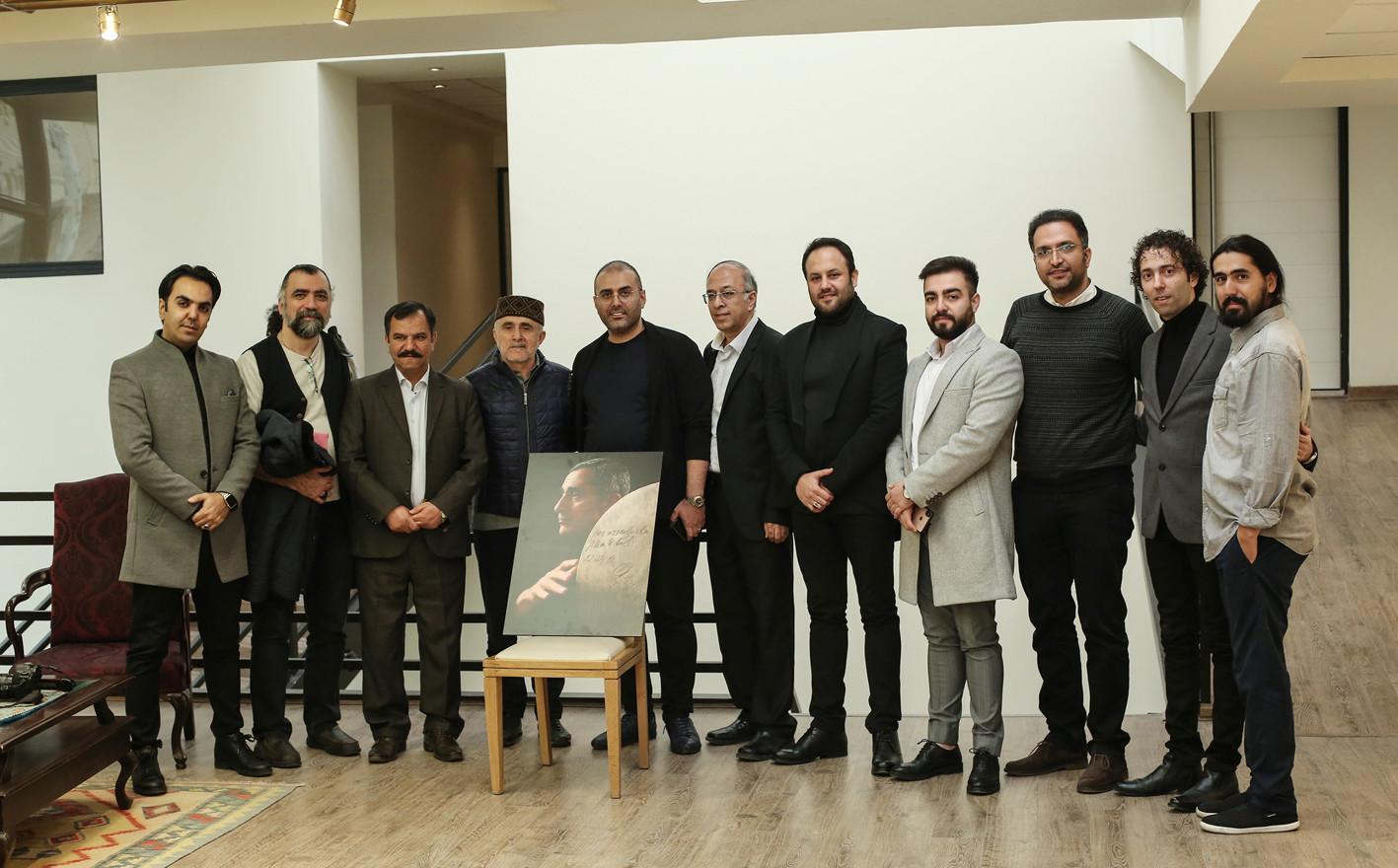 TEHRAN NATIONAL MUSIC MUSEUM alim qasimov Photo donnation seven beauties projects 2018