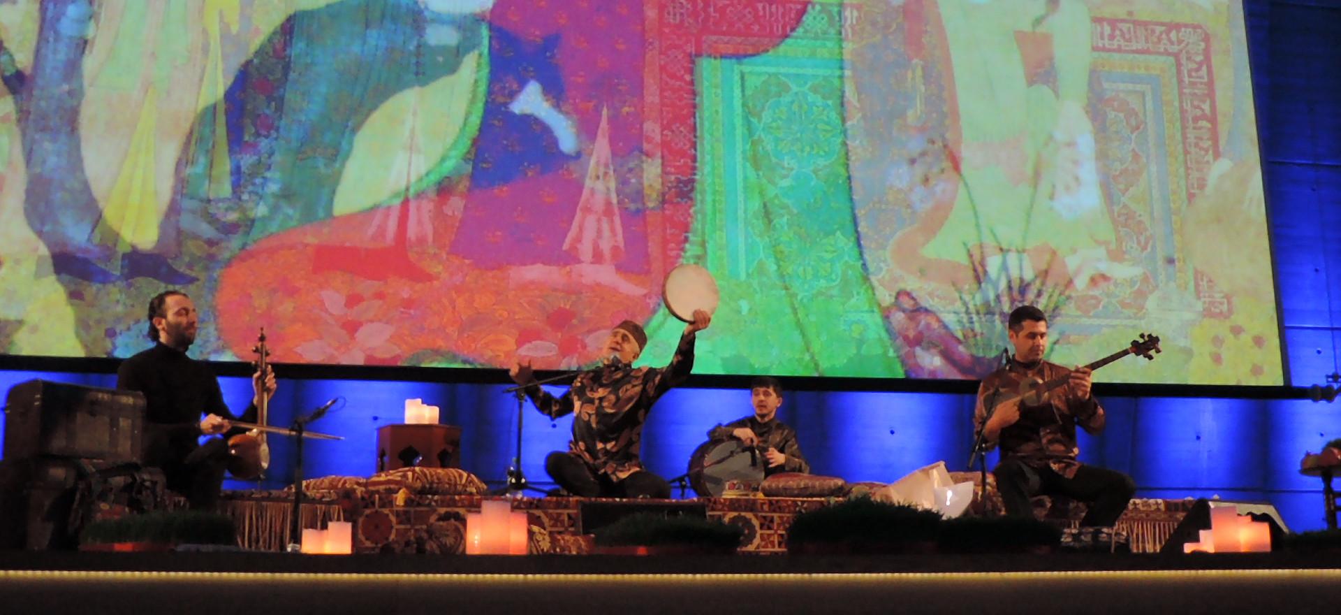 CONCERT ALIM QASIMOV IN UNESCO - PARIS MARCH 20, 2019 SEVEN BEAUTIES CONCERT