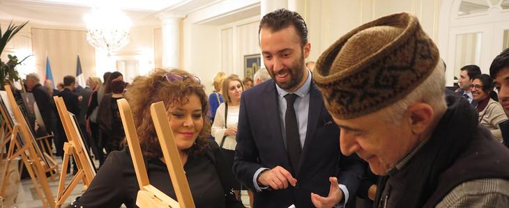 Photo Exposition of Alim Qasimov in Azerbaijan Cultural Center in Paris