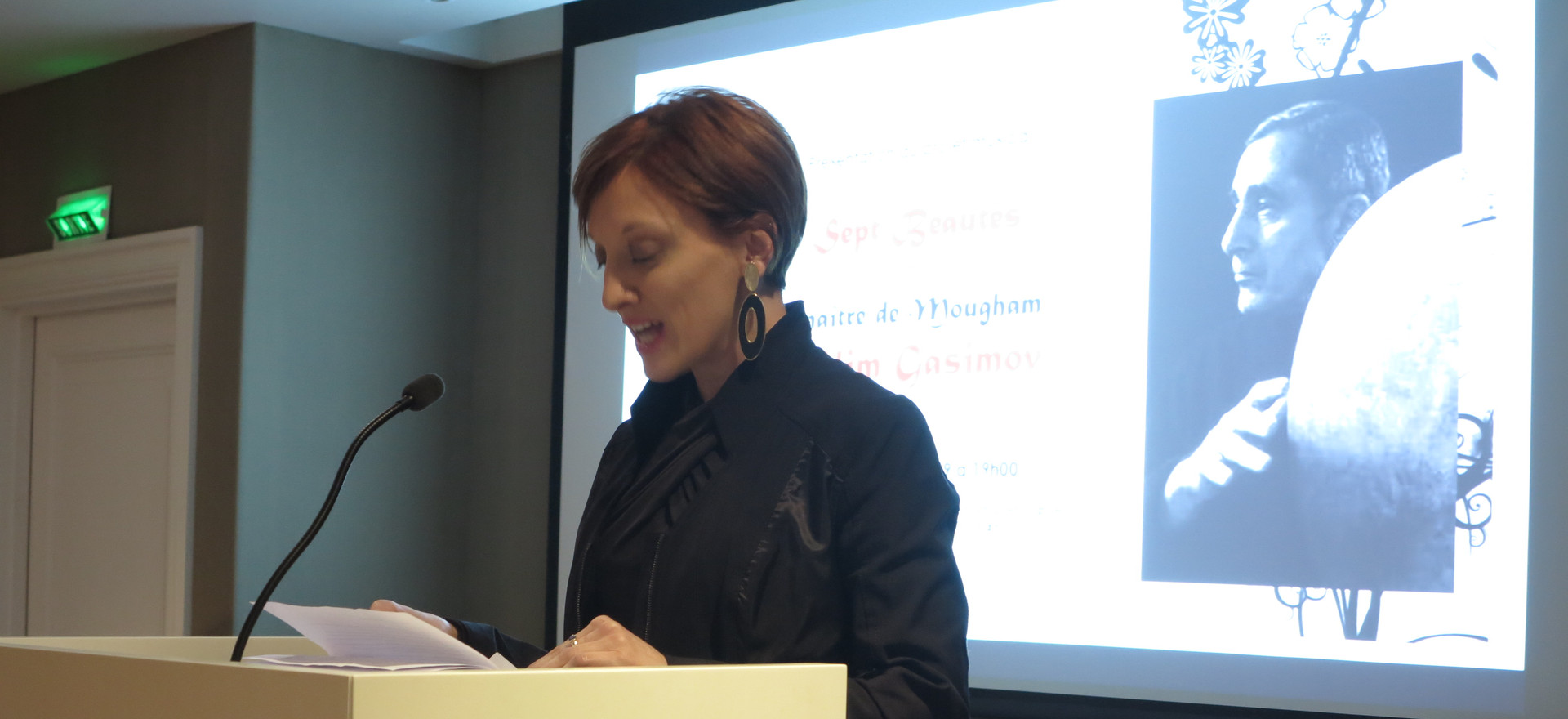 Gwendeline Lumaret (President of FMICA Organizers)