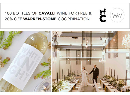 WARREN-STONE WEDDINGS AND CAVALLI WINE PROMOTION 2021