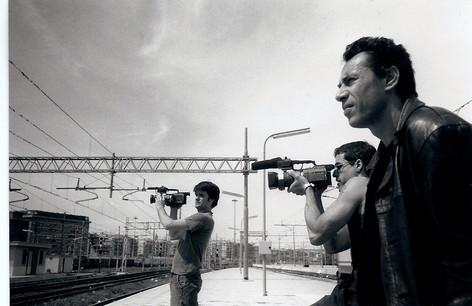 Movimenti: shooting with Vittorio at Stazione Tiburtina