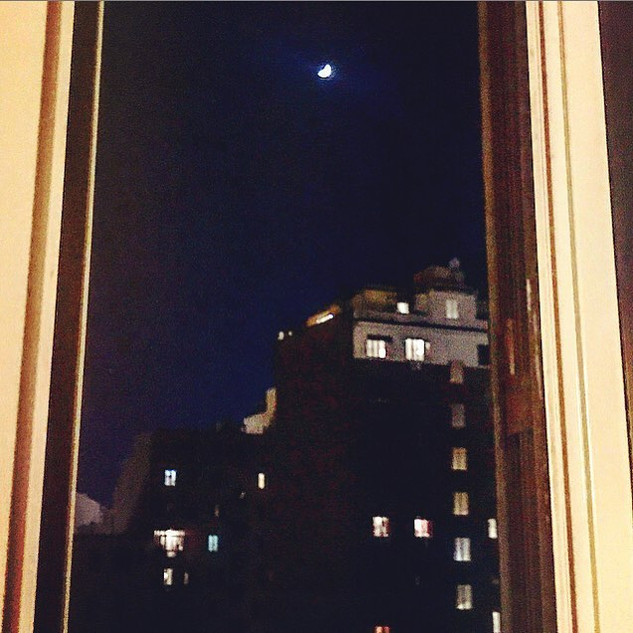 high moon in her night watch shift in the sky (another windowy tale)