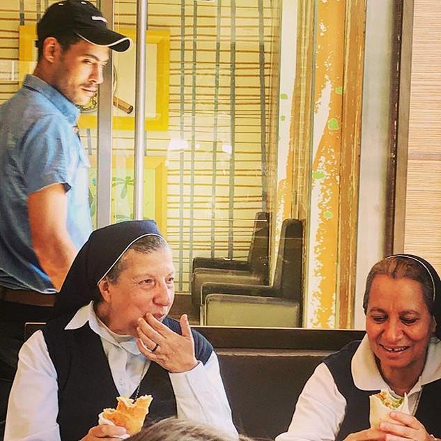 fast food sisters (spiritual big mac)