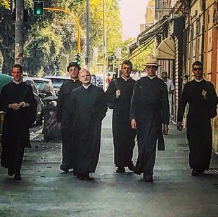 the men in black (urban style sci-fi priesthood)