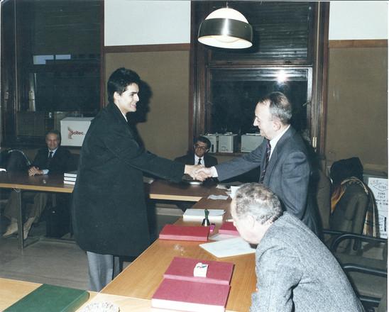 Tullio De Mauro, november 1990: my Graduation Day