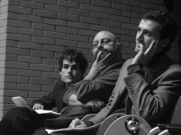 Babak Karimi & Antonello Faretta, january 2004