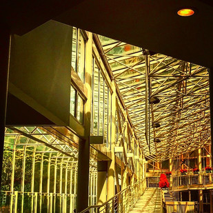 more songs about buildings and food (vol.19)_ sun captured inside (metal&glass)