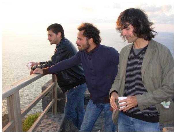 Claudio Giovannesi and Pippo Mezzapesa, october 2008