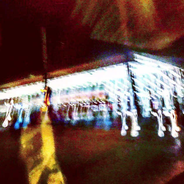 uh-oh, I'd swear I saw the ghost of John Lennon walking down the avenue (a psychedelic sketch)