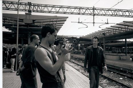 Movimenti: shooting in Stazione Tirburtina