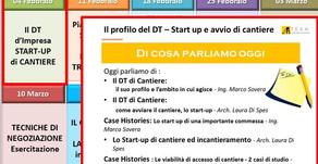 Il Profilo del DT - Start Up e Avvio di Cantiere 04/02/2020