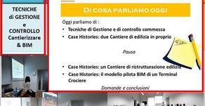 18Feb 2020 - Controllo Commessa & BIM
