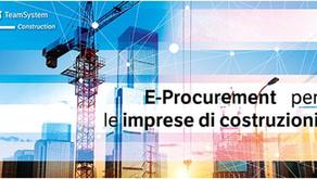 Webinar 16/07 E-Procurement e imprese di costruzioni